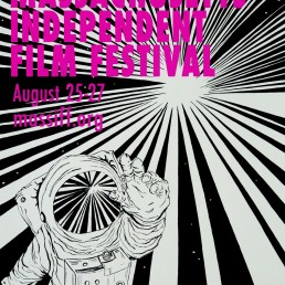 2017 Massachusetts Independent Film Festival poster by Rayna Lo