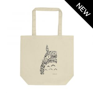 Totoro Tote Bag by Rayna Lo