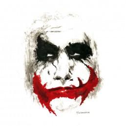 Batman Joker Illustration by Rayna Lo