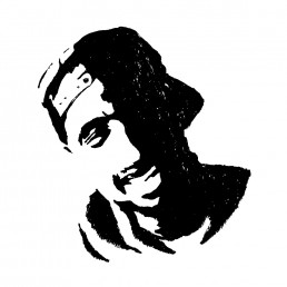 Tupac Shakur illustration by Rayna Lo