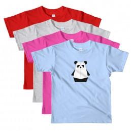 Kids' Pandabot T-Shirt by Rayna Lo