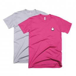 Unisex Adult's Pandabot T-Shirt by Rayna Lo