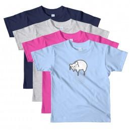 Kids' Percy the Melting Polar Bear T-Shirt by Rayna Lo