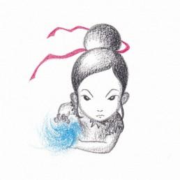 Street Fighter Chun-Li Samurai Girl by Rayna Lo