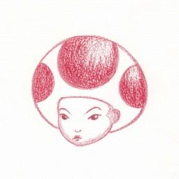 Toad Samurai Girl by Rayna Lo