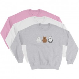 Unisex Adult's Bearbots Sweater by Rayna Lo