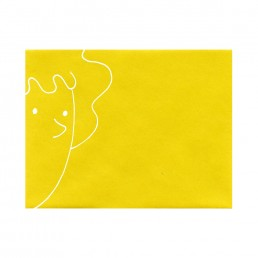 Patti Mayonnaise envelope hand-drawn by Rayna Lo