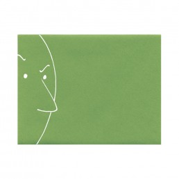 Roger Klotz envelope hand-drawn by Rayna Lo