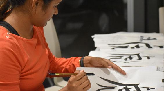 2019-10_2019-11_northeastern-crossing-calligraphy-workshop-03