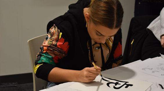 2019-10_2019-11_northeastern-crossing-calligraphy-workshop-04