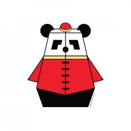 Mr. Pandabot by Rayna Lo