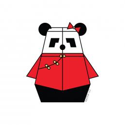 Mrs. Pandabot by Rayna Lo