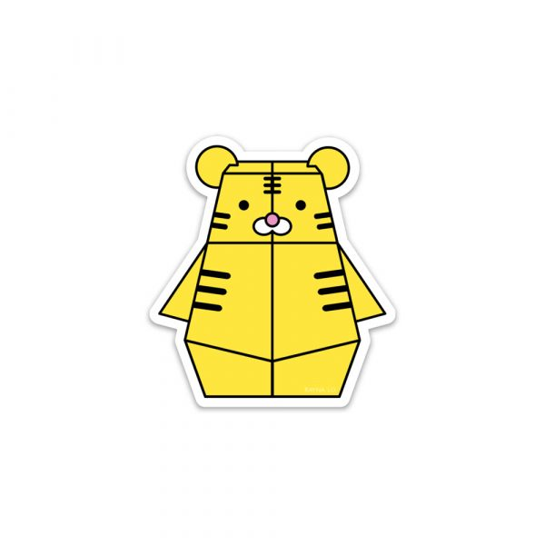 Tigerbot sticker by Rayna Loq