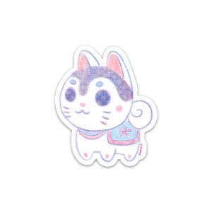 Inu Hariko sticker by Rayna Lo