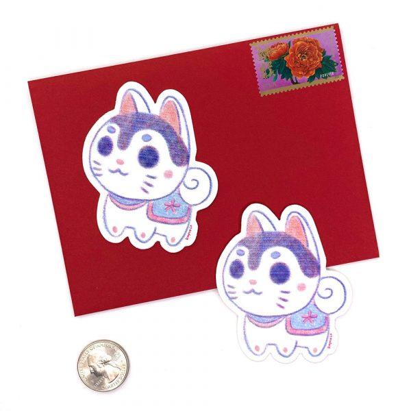 Inu Hariko sticker by Rayna Lo