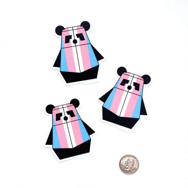 Trans Pandabot Sticker by Rayna Lo