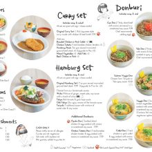 <strong>Cafe Mami Japanese Restaurant Menu Design</strong> (2 of 2)<br><br>Custom menu design with hand drawn lettering and illustrations.<br><br>2019