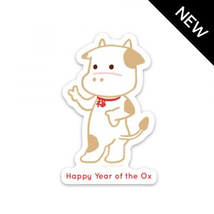Year of the Ox Lucky Magnet by Rayna Lo