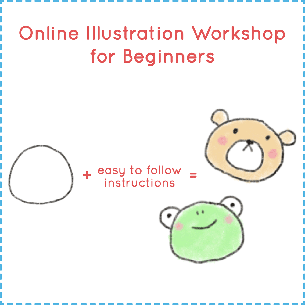 Online Illustration Doodle Workship with Rayna Lo