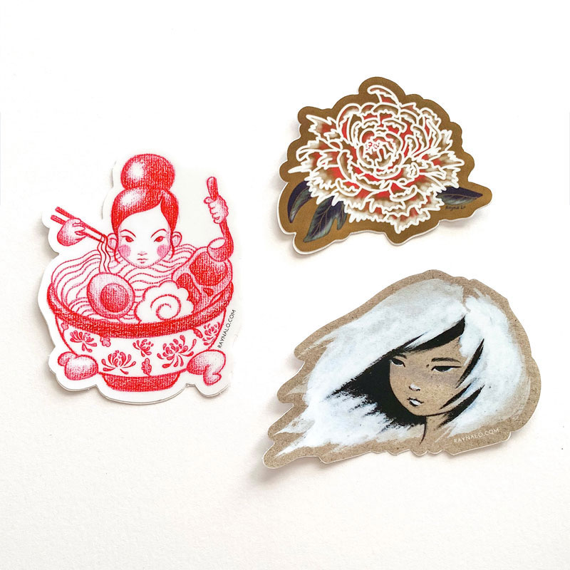 Sticker Sets for Women's Month – 100% Proceeds Donated to Abby's House by Rayna Lo