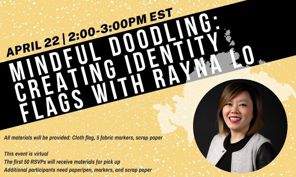 Mindful Doodling: Creating Identity Flags with Rayna Lo