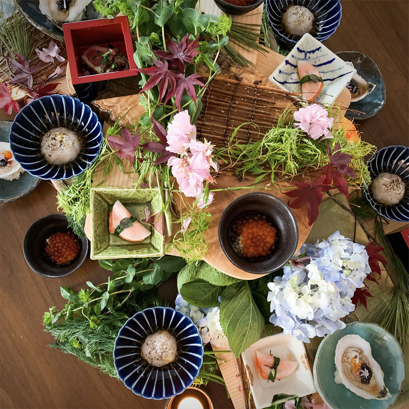 A Trip to Japan Without Leaving our Home - Iwakura Sushi Kaiseki with Washoku Renaissance by Rayna Lo