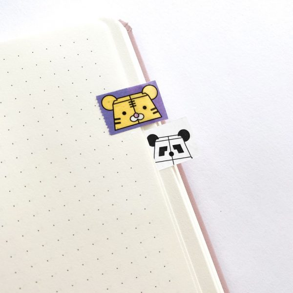 Bear Mindful Washi Tape Set of two by Rayna Lo